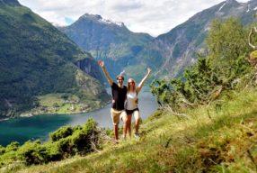 Geirangerfjorden: fjord, mis paneb käsi taeva poole viskama